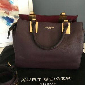 Kurt Geiger London Leather Satchel